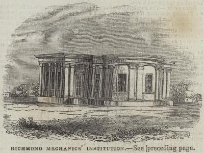 Richmond Mechanics' Institution--Giclee Print