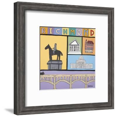 Richmond-Brian Nash-Framed Art Print