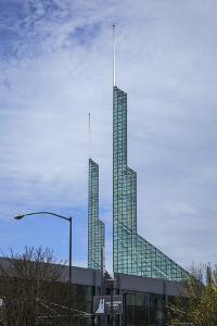 Oregon Convention Center, Portland, Oregon, USA by Rick A. Brown