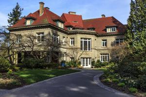 Pittock Mansion, Portland, Oregon, USA by Rick A. Brown