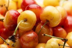 USA, Oregon, Keizer, Rainier Cherries by Rick A. Brown