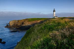 Yaquina Head Lighthouse, Newport, Oregon, USA by Rick A^ Brown