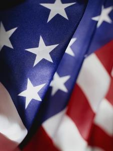 Close-up of American Flag by Rick Barrentine