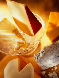 Variety of Cheeses by Rick Barrentine
