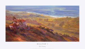 Hilltop I by Rick Delanty