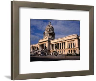 Exterior of El Capitolio Nacional, Havana, Cuba