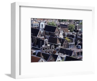 High-Pitched Roof-Tops of Houses, Amsterdam, Netherlands