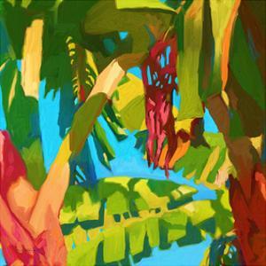 Palm Impressions 04 by Rick Novak
