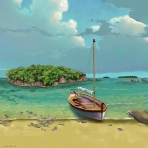 Sailing Serenity I by Rick Novak