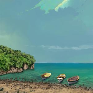 Sailing Serenity II by Rick Novak