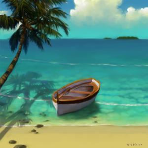 Sailing Serenity III by Rick Novak