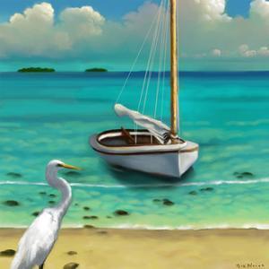 Sailing Serenity IV by Rick Novak