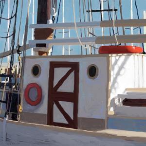 Sailing Serenity V by Rick Novak