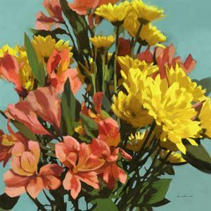 Vibrant Bouquet I by Rick Novak