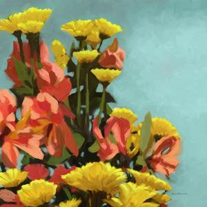 Vibrant Bouquet II by Rick Novak