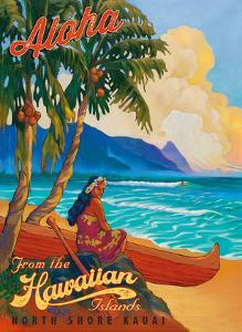 Aloha From the Hawaiian Islands - North Shore Kauai Hawaii by Rick Sharp