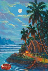 Ancient Hawaii - Travel with Oceanic Steamship Company by Rick Sharp