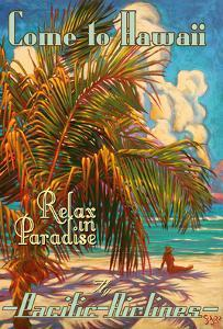 Come to Hawaii - Relax in Paradise - Pacific Airlines by Rick Sharp