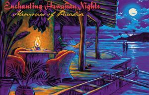 Enchanting Hawaiian Nights - Memories of Paradise - Romantic Moonlit Beach by Rick Sharp