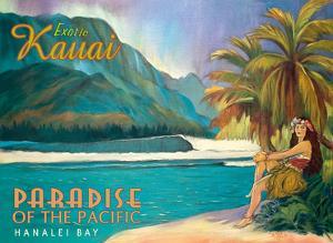 Exotic Kauai, Hawaii - Paradise of the Pacific - Hanalei Bay by Rick Sharp