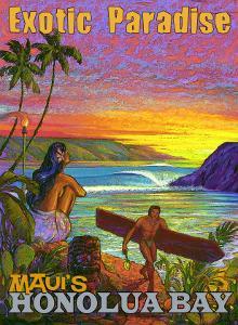 Exotic Paradise, Honolua Bay by Rick Sharp