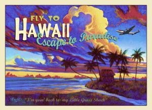 Fly to Hawaii Clipper Airline by Rick Sharp