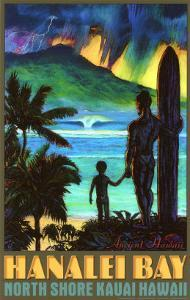 Hanalei Bay North Shore Kauai by Rick Sharp
