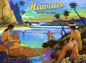 Hawaii, Holo Holo, Outer Island by Rick Sharp