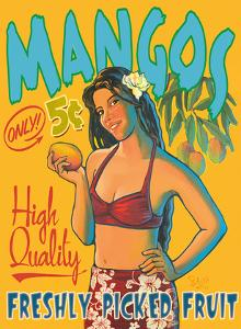 Hawaii Mangos Only 5¢ - High Quality Freshly Picked Fruit by Rick Sharp