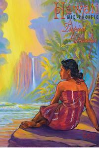Hawaii - Mid-Pacific - Tropical Paradise by Rick Sharp