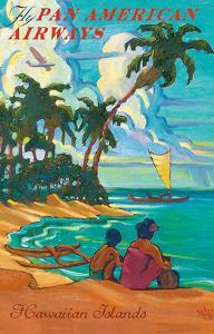 Hawaiian Islands - Fly Pan American Airways by Rick Sharp
