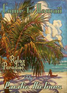 Relax in Hawaii Pacific Airlines by Rick Sharp