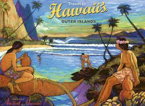Travel (Holo Holo) to Hawaii's Outer Islands by Rick Sharp