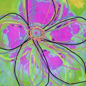 Big Pop Floral III by Ricki Mountain