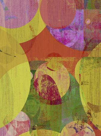 Vibrant Ellipses II by Ricki Mountain