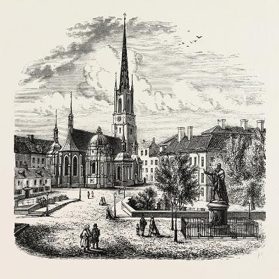Riddarholm Church. the Riddarholmen Church--Giclee Print