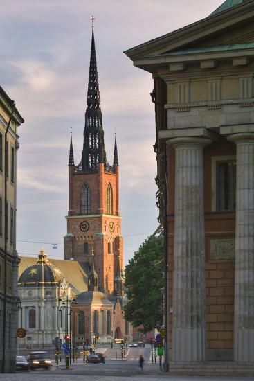 Riddarholmskyrkan Steeple-Jon Hicks-Photographic Print