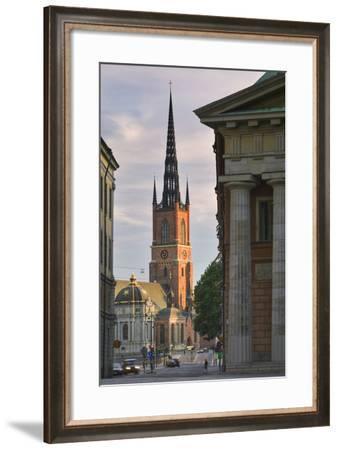 Riddarholmskyrkan Steeple-Jon Hicks-Framed Photographic Print