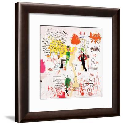 Riddle Me This, Batman, 1987-Jean-Michel Basquiat-Framed Giclee Print