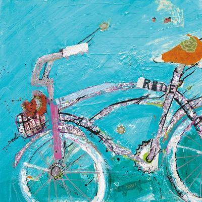 Ride Blue Pink-Kellie Day-Art Print