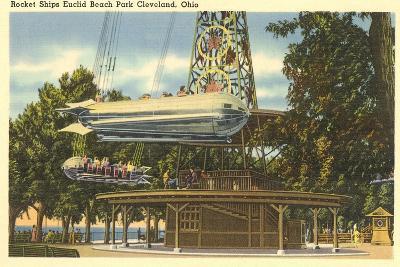 Ride, Euclid Beach Park, Cleveland--Art Print