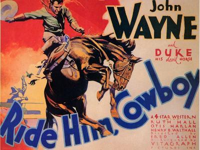 Ride Him Cowboy, 1932--Art Print