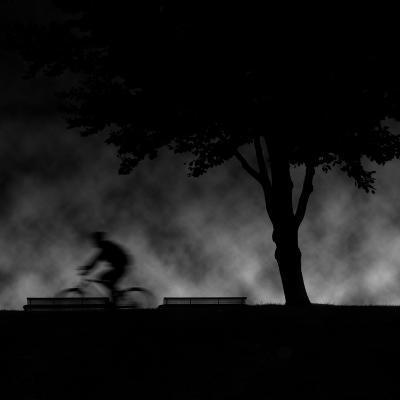 Ride into Night-Sharon Wish-Photographic Print