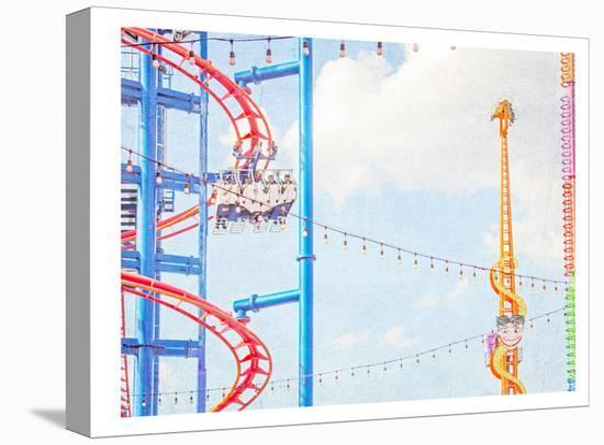 Ride The Sky-Mina Teslaru-Stretched Canvas Print