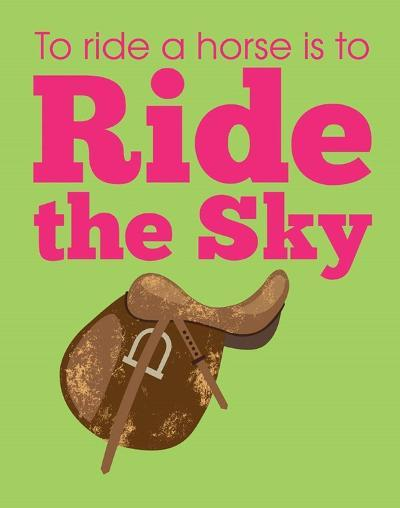 Ride the Sky-Sports Mania-Art Print