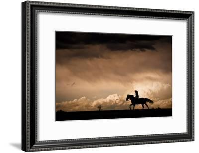 Ride the Storm-Dan Ballard-Framed Photographic Print