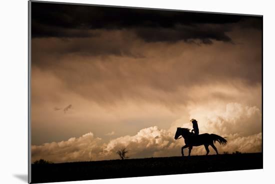 Ride the Storm-Dan Ballard-Mounted Photographic Print