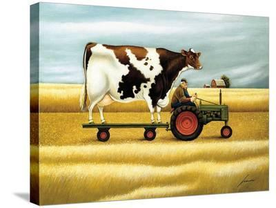 Ride to the Fair-Lowell Herrero-Stretched Canvas Print