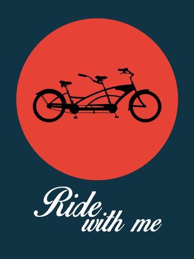 Ride with Me 1-NaxArt-Art Print