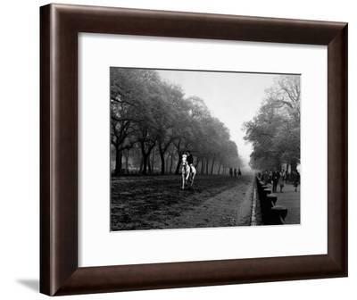 Rider on Horseback in Hyde Park-Bill Brandt-Framed Photographic Print